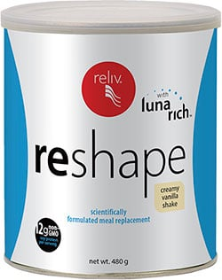 Reliv Australia Products - ReShape