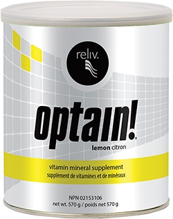 Reliv Canada Product - Optain