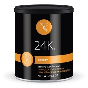 Reliv 24K - Healthy Energy, Focus, and Stress Relief!