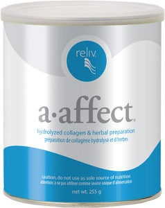 Reliv Canada Products A-affect joint health