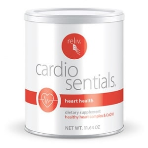 Reliv CardioSentials - Clinically proven to support cardiovascular health.
