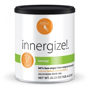 Innergize Lower Sugar - 60% less sugar than original Innergize! Only 5 grams added sugar per serving.