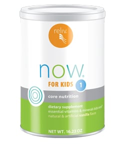 Reliv Now for Kids 1 - Kids Core Nutrition