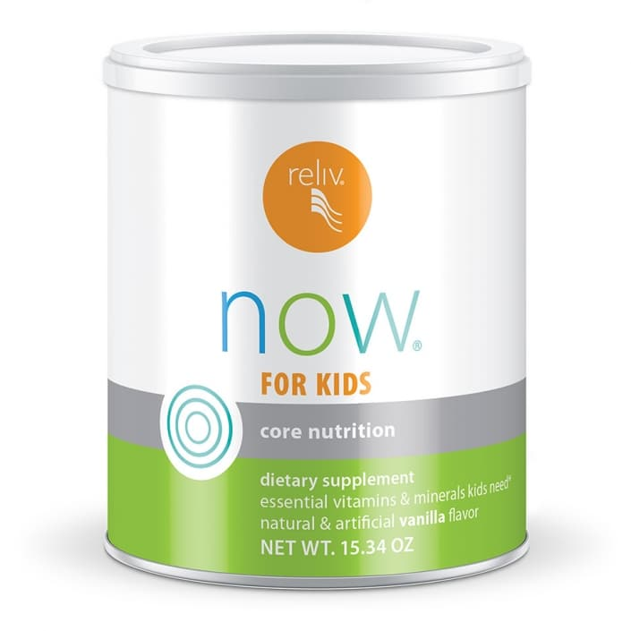 Reliv Now for Kids Healthy Bodies, Healthy Kids!