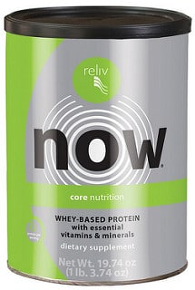 Reliv Now with Whey - Core Nutrition