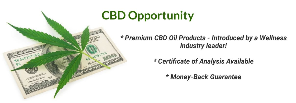 Reliv CBD Oil Opportunity - RLV Hemp Extract Products