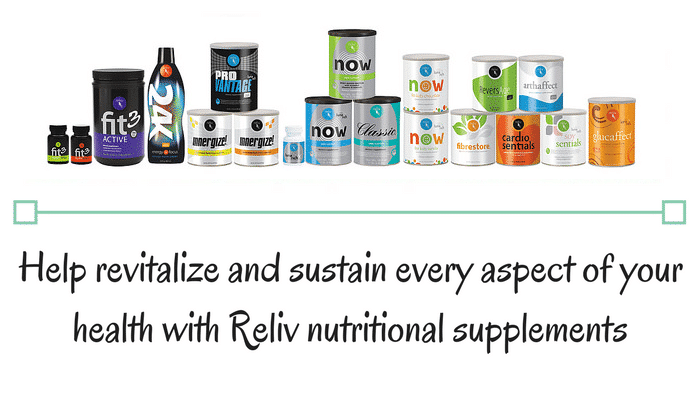 Reliv International US Product Line