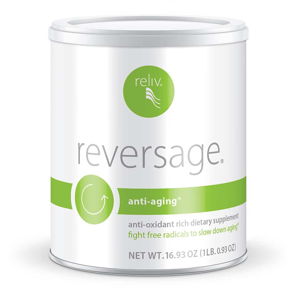 ReversAge Anti-Aging formula addresses aging at the cellular level