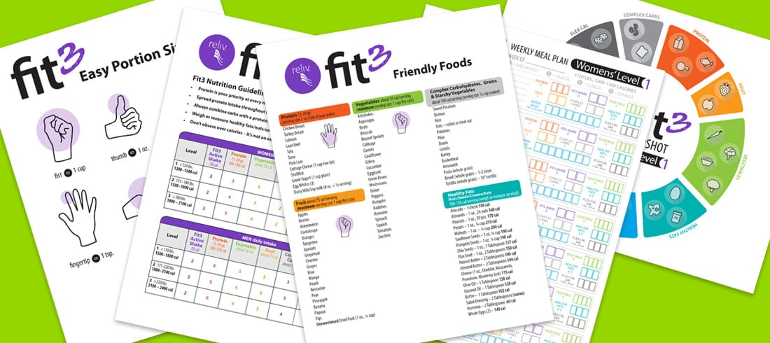 Fit3 makes good nutrition simple!